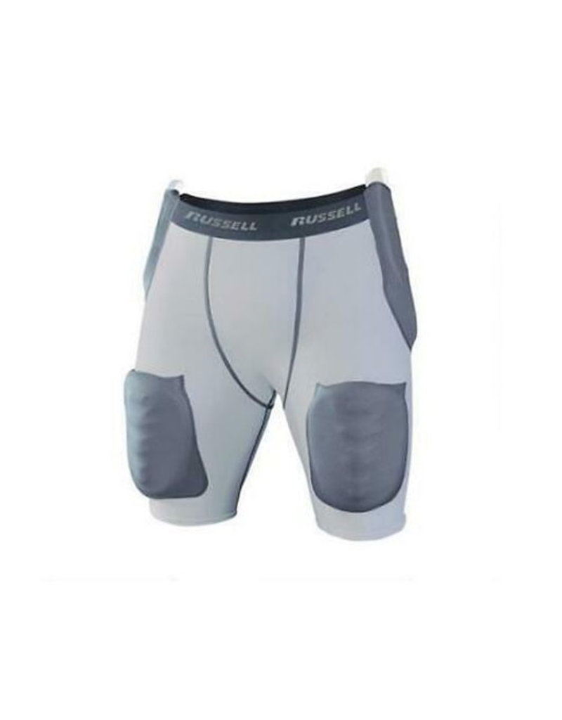 Russell Athletics Russell Integrated 5-Pad Girdle W/ Hard Shell Thigh Pad