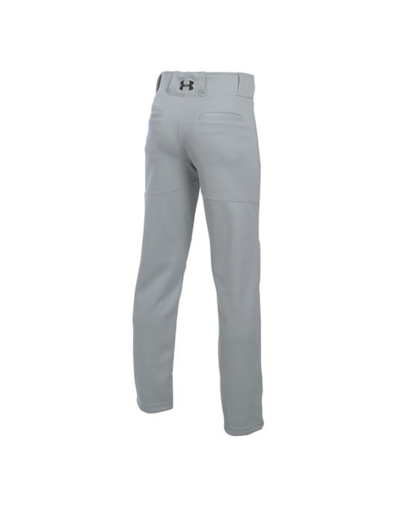"""Under Armour Under Armour """"Lead Off """" Youth baseball pant Grey"""