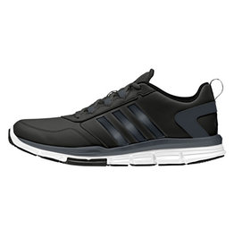 Adidas Adidas Speed Trainer 2 SLT Coaches Full Synth Upper Shoe-Black/Grey/White