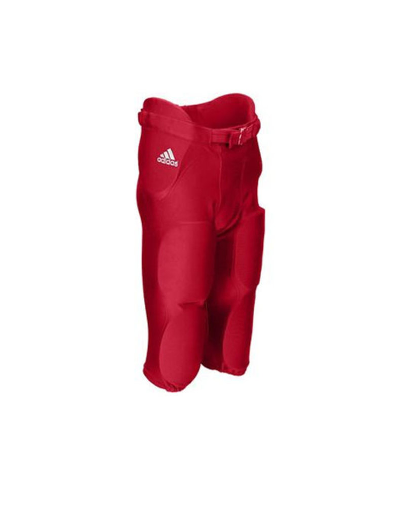 red adidas pants youth