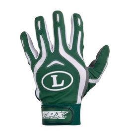 TPX Pro Design Series Batting Gloves-Dark Green-Medium