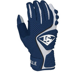 Louisville Slugger Louisville Slugger Youth Series 5 Batting Gloves-Navy-XL