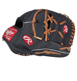 "Rawlings Rawlings Gamer 11.5"" Infield/Pitcher Glove Black Grey ( Left handed Throw)"