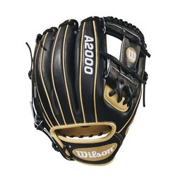 "Wilson Wilson A2000 1786 11.50""  baseball glove H-Web Black/Blonde"