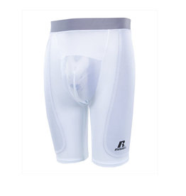 Russell Athletics Russell Youth Sliding Short-WHITE