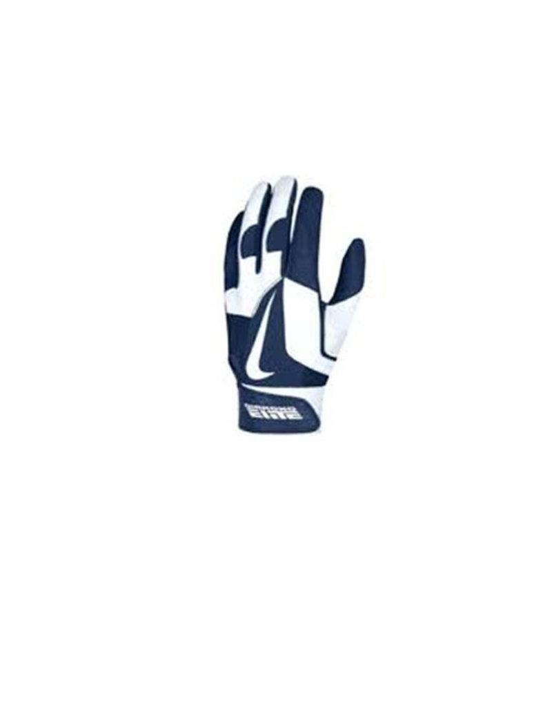 Nike Nike MVP Elite Batting Gloves Navy/White
