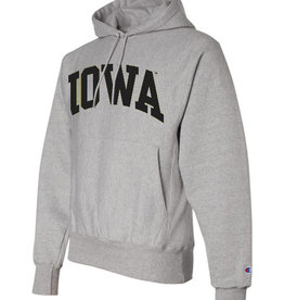 Champion Rah Rah Iowa Champion Reverse Weave Hooded Sweatshirt