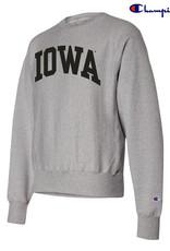 Champion Rah Rah Iowa Champion Reverse Weave Crewneck Sweatshirt
