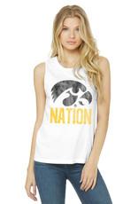 Rah-Rah Clothing Hawkeye Nation Women's Muscle Tank