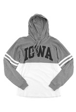 Rah-Rah Clothing Iowa Ladies Hooded Pom Pom Jersey