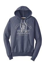 Rah-Rah Clothing Rah-Rah Pleasant Valley Spartans Athletic Dept. Triblend French Terry Hoodie-New Navy
