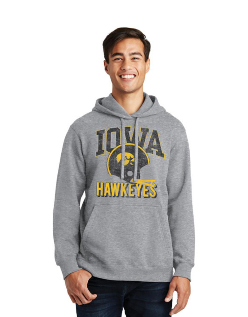 Vintage Iowa Hawkeyes Hoodie