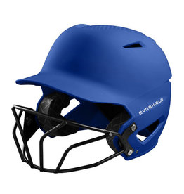 EvoShield Evo Shield XVT Batting Helmet with Softball Mask-Matte Finish