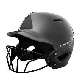EvoShield Evoshield XVT Luxe Fitted Batting Helmet with Face Mask
