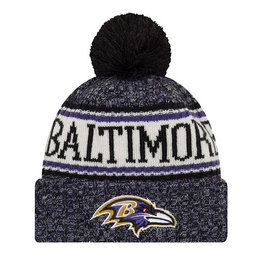 New Era New Era NFL Cold Weather Official Sport Knit Beanie Baltimore