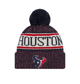 New Era New Era NFL Cold Weather Official Sport Knit Beanie Houston Texans