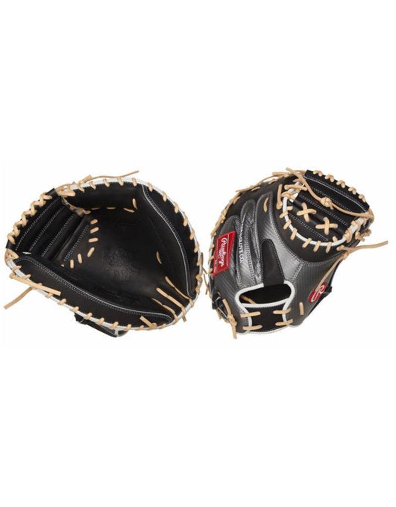 "Rawlings Rawlings Heart of the Hide Hyper Shell 34"" Baseball Catchers Mitt Right Hand Throw"