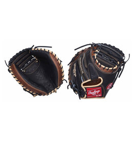 "Rawlings Rawlings Heart of the Hide 33"" Baseball Catchers Mitt Right Hand Throw"