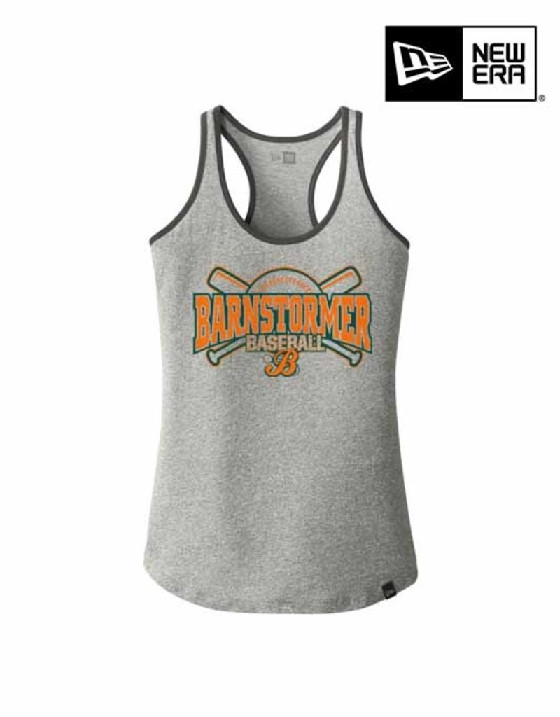 Rah-Rah Clothing Barnstormer Baseball LADIES New Era Heritage Blend Racerback Tank