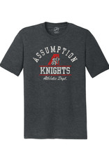 Rah-Rah Clothing Rah-Rah Assumption Knights Athletic Dept. Triblend Short Sleeve Tee-Black Frost