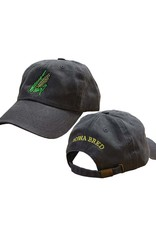 Rah-Rah Clothing Iowa Bred Corn Cob Garment Washed Cap-Black