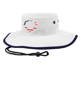 EvoShield Evoshield Bucket Cap-White USA