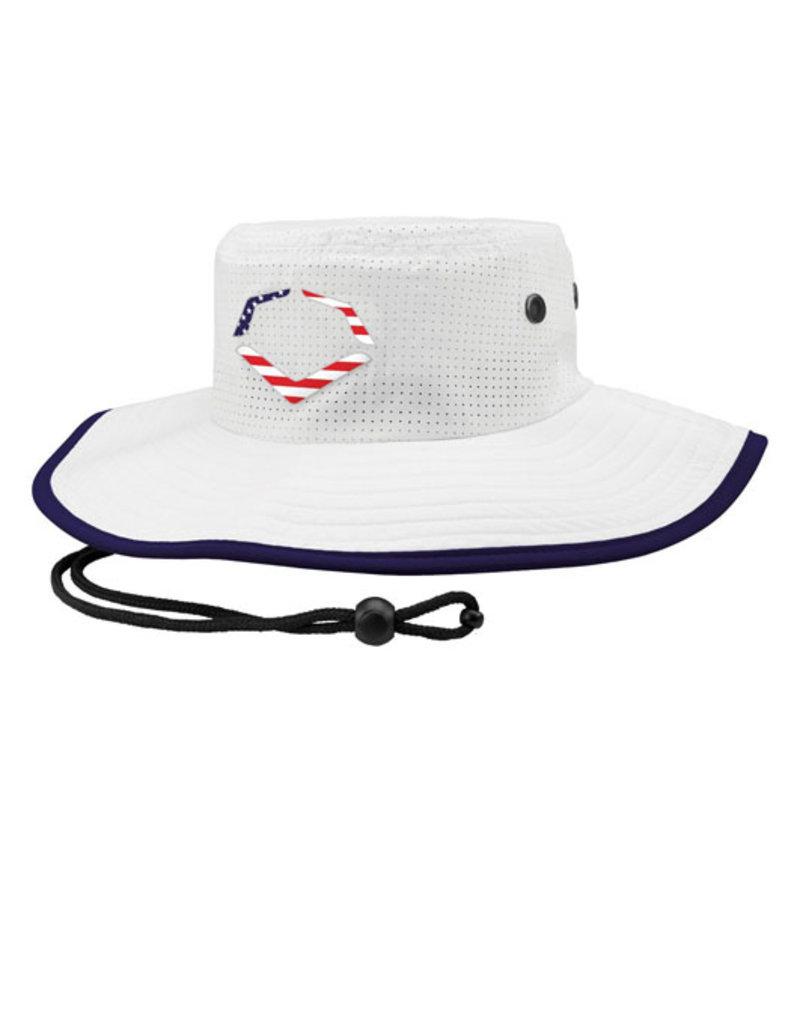 EvoShield Evoshield Bucket Cap-White USA