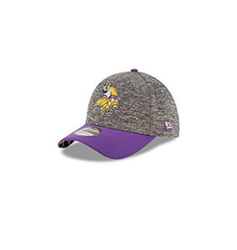 New Era New Era 2016 Draft 39THIRTY NFL Tech Heather Cap Minnesota