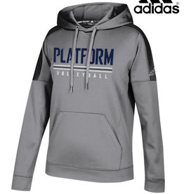 Adidas Platform Elite adidas Women's Team Issue Hooded Sweatshirt-Grey
