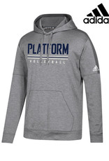 Adidas Platform Elite adidas Team Issue Hooded Sweatshirt-Grey