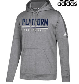 Adidas Platform Elite adidas Team Issue Hooded Sweatshirt-Grey
