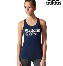 Adidas Platforme Elite adidas Women's Performer Baseline Tank-Collegiate Navy