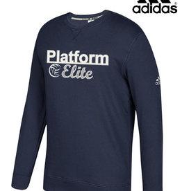 Adidas Platform Elite adidas Fleece Crewneck Sweatshirt