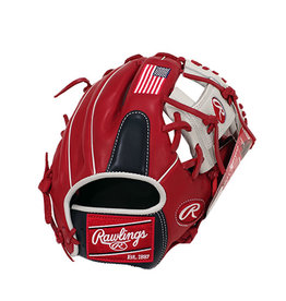 "Rawlings Rawlings Gamer Limited Edition USA Flag 11.50""- Right Hand Throw"