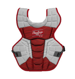"Rawlings Rawlings VELO 2.0 Adult 17"" Catchers Chest Protector NOCSAE Standards"