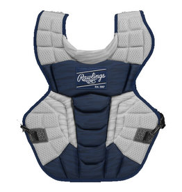 "Rawlings Rawlings VELO 2.0 Intermediate 15.5"" Catchers Chest Protector NOCSAE Standards"