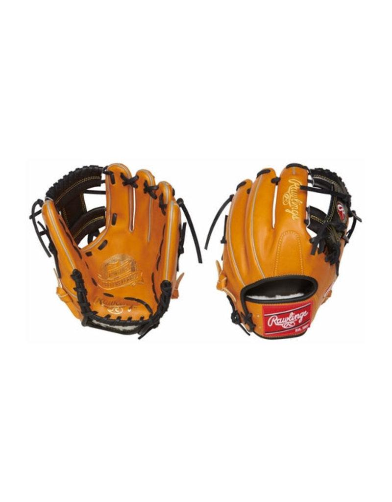 "Rawlings Rawlings 11.5"" Pro Preferred Tan Infield Glove Right Hand Throw"