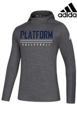 Adidas Platform Elite adidas Game Mode Lightweight Training Hoodie-Grey 5
