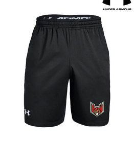 Under Armour QC Heat Under Armour Pocketed Raid Short-Black