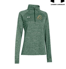 Under Armour Barnstormers Under Armour Ladies Twisted Tech 1/4 Zip-Forest