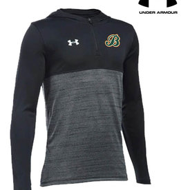 Under Armour Barnstormers YOUTH Under Armour Tech 1/4 Zip Hoody-Black