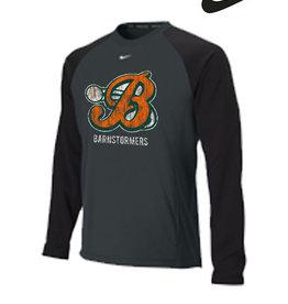 Nike Barnstormer Baseball Nike Baseball Crew 1.5-Anthracite/Black