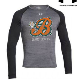 Under Armour Barnstormers Under Armour Novelty Long Sleeve Tee-Black