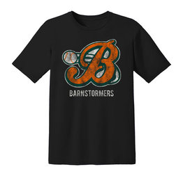 Barnstormers Premium Cotton Short Sleeve Tee-Black