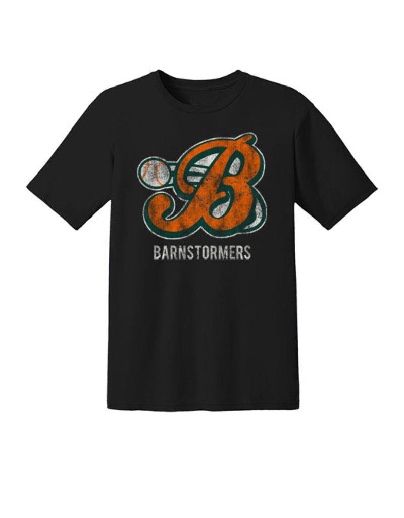Barnstormers Premium Cotton Short Sleeve Tee-Black