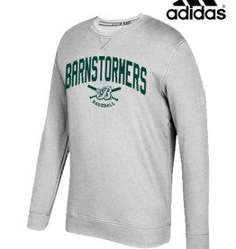 Adidas Barnstormers adidas Fleece Crewneck Sweatshirt-Grey