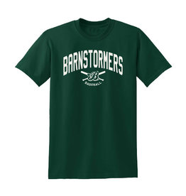 Barnstormers Short Sleeve Tee-Dark Green