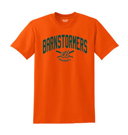 Barnstormers Short Sleeve Tee-Orange