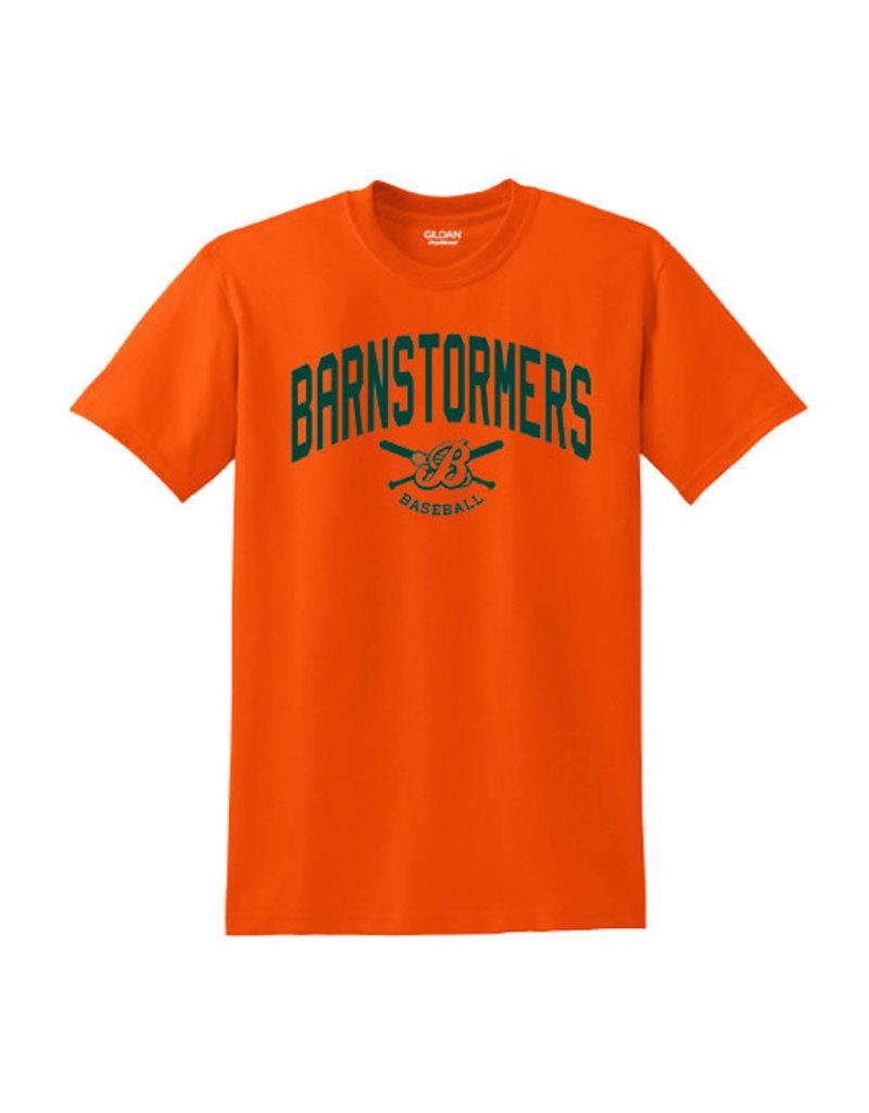 Barnstormers Short Sleeve Tee-Orange