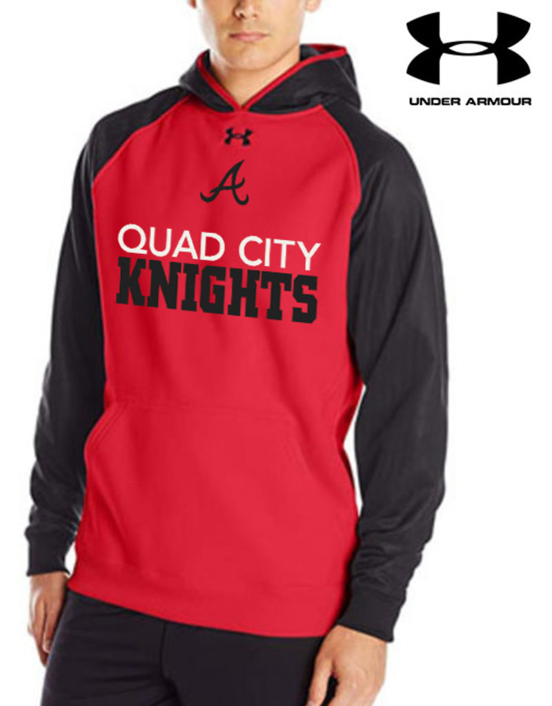 Under Armour QC Area Knights Under Armour Storm Team Hoodie-Red/Black